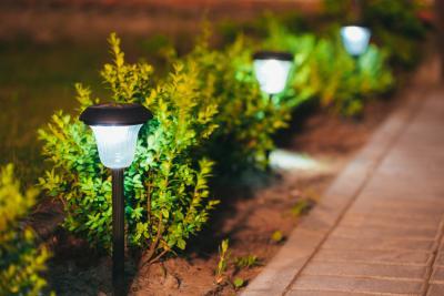 كيفية إضاءة حديقتك